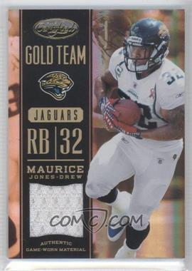 2012 Panini Certified Gold Team Materials #2 - Maurice Jones-Drew /99