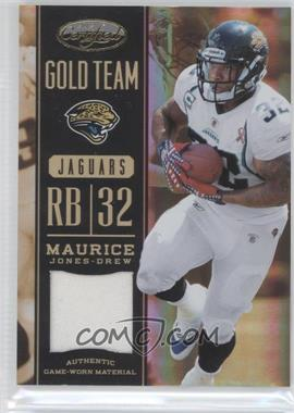 2012 Panini Certified Gold Team Materials #2 - Maurice Jones-Drew /99