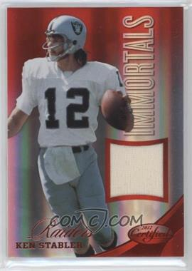 2012 Panini Certified Materials Mirror Red #203 - Ken Stabler /199