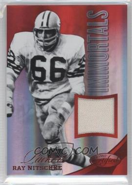 2012 Panini Certified Materials Mirror Red #237 - Ray Nitschke /149