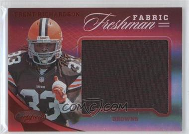 2012 Panini Certified Materials Mirror Red #318 - Trent Richardson /149
