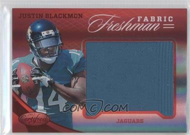 2012 Panini Certified Materials Mirror Red #319 - Justin Blackmon /149