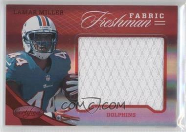 2012 Panini Certified Materials Mirror Red #337 - Lamar Miller /149