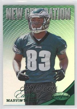 2012 Panini Certified Mirror Emerald #290 - Marvin McNutt /5