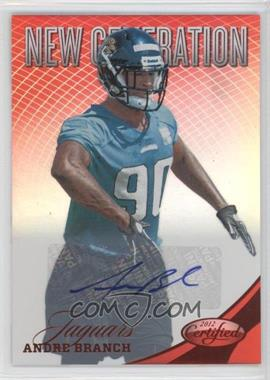 2012 Panini Certified Mirror Red Signatures [Autographed] #252 - Andre Branch /250