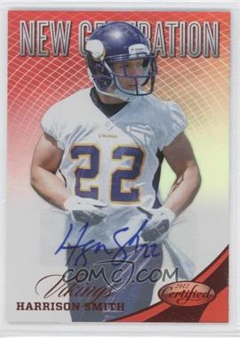 2012 Panini Certified Mirror Red Signatures [Autographed] #274 - Harrison Smith /350