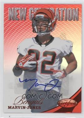 2012 Panini Certified Mirror Red Signatures [Autographed] #289 - Marvin Jones /350