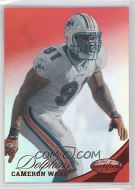 2012 Panini Certified Mirror Red #12 - Cameron Wake /250