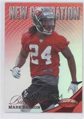 2012 Panini Certified Mirror Red #287 - Mark Barron /250