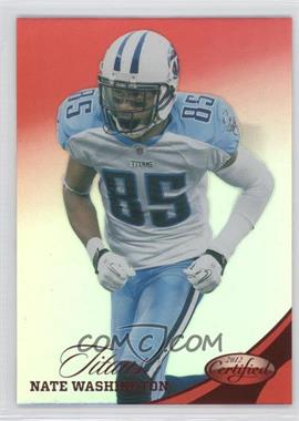 2012 Panini Certified Mirror Red #44 - Nate Washington /250