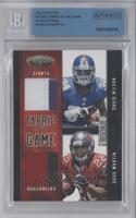 Doug Martin, David Wilson /49 [BGS AUTHENTIC]