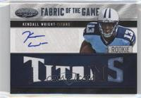 Kendall Wright /15