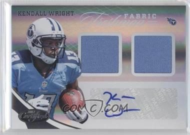 2012 Panini Certified #322 - Kendall Wright /399