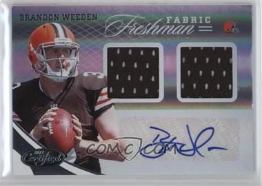 2012 Panini Certified #323 - Brandon Weeden /299