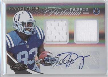 2012 Panini Certified #333 - Dwayne Allen /499