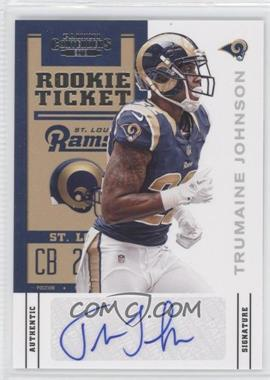 2012 Panini Contenders - [Base] #193 - Rookie Ticket - Trumaine Johnson