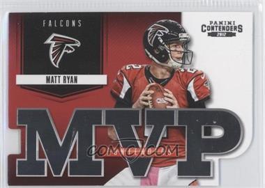 2012 Panini Contenders - MVP Contenders #10 - Matt Ryan