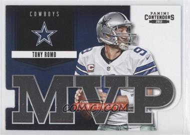 2012 Panini Contenders - MVP Contenders #13 - Tony Romo