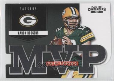 2012 Panini Contenders - MVP Contenders #8 - Aaron Rodgers