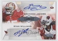 Brandon Jacobs, Ryan Williams /25