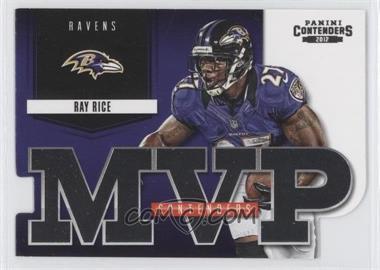2012 Panini Contenders MVP Contenders #1 - Ray Rice