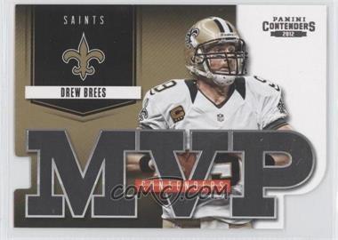 2012 Panini Contenders MVP Contenders #12 - Drew Brees