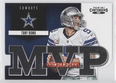 2012 Panini Contenders MVP Contenders #13 - Tony Romo