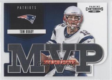 2012 Panini Contenders MVP Contenders #4 - Tom Brady