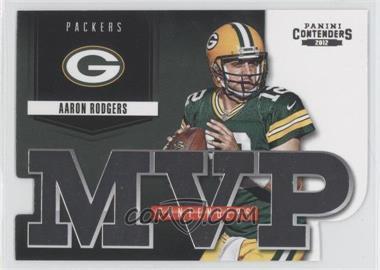 2012 Panini Contenders MVP Contenders #8 - Aaron Rodgers