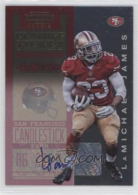 2012 Panini Contenders Playoff Ticket #219 - LaMichael James /99