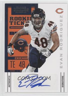2012 Panini Contenders Rookie Ticket Variation #239 - Evan Rodriguez (Short Print)