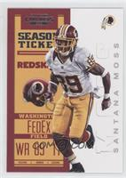 Season Ticket - Santana Moss