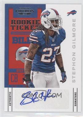 2012 Panini Contenders #185 - Rookie Ticket - Stephon Gilmore