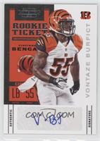 Rookie Ticket - Vontaze Burfict