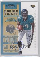 Rookie Ticket RPS - Justin Blackmon /550