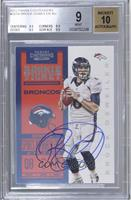 Rookie Ticket RPS - Brock Osweiler [BGS 9]
