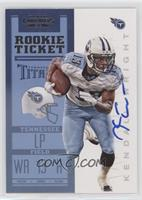 Rookie Ticket RPS - Kendall Wright