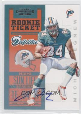 2012 Panini Contenders #226 - Rookie Ticket RPS - Michael Egnew