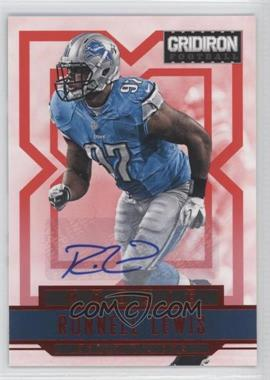 2012 Panini Gridiron - [Base] - Rookie Signatures Xs [Autographed] #281 - Ronnell Lewis /499
