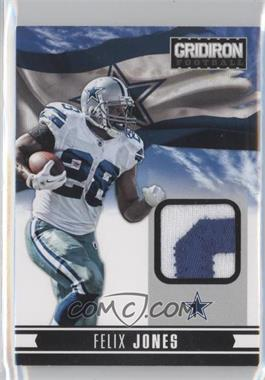 2012 Panini Gridiron NFL Nation Materials Prime #4 - Felix Jones /49