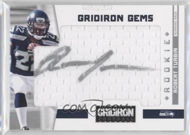 2012 Panini Gridiron Rookie Gridiron Gems Signatures [Autographed] #305 - Robert Turbin /299