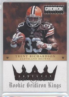 2012 Panini Gridiron Rookie Gridiron Kings Materials [Memorabilia] #3 - Trent Richardson /299