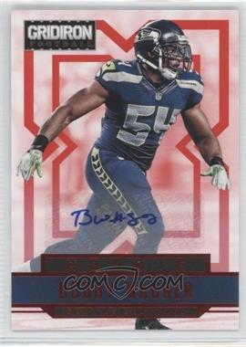 2012 Panini Gridiron Rookie Signatures Xs [Autographed] #207 - Bobby Wagner /499
