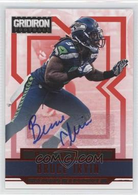 2012 Panini Gridiron Rookie Signatures Xs [Autographed] #210 - Bruce Irvin /499