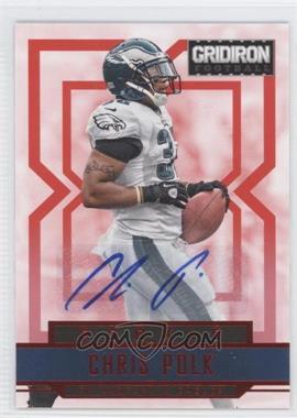 2012 Panini Gridiron Rookie Signatures Xs [Autographed] #216 - Chris Polk /499