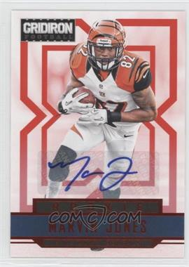 2012 Panini Gridiron Rookie Signatures Xs [Autographed] #263 - Marvin Jones /499