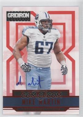 2012 Panini Gridiron Rookie Signatures Xs [Autographed] #269 - Mike Martin /499
