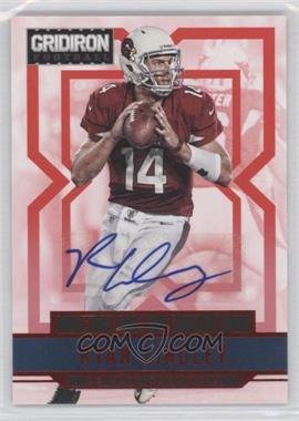 2012 Panini Gridiron Rookie Signatures Xs [Autographed] #282 - Ryan Lindley /499