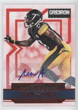 2012 Panini Gridiron Rookie Signatures Xs [Autographed] #283 - Sean Spence /499