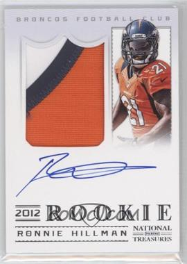 2012 Panini National Treasures - [Base] #324 - Ronnie Hillman /99